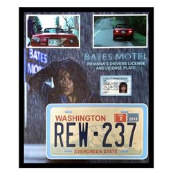 Bates Motel Marion Crane License Plate & Driver License Display