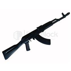 Black Widow Security Machine Gun Stunt