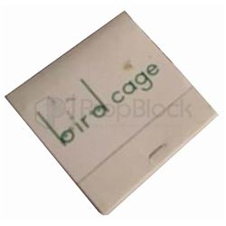 The Birdcage Matchbook