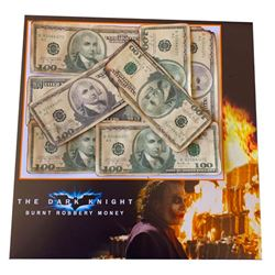 The Dark Knight Burnt Currency Display
