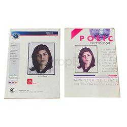 The Da Vinci Code Sophie Neveu Interpol Documents