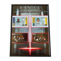 Devil Identification Card Display