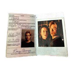 The Devils Own Passport & Photograph