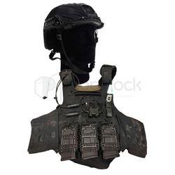 Gemini Man Tactical Vest & Helmet
