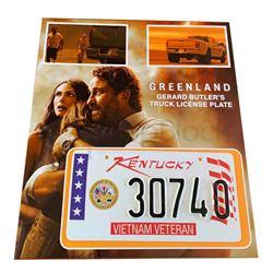 Greenland License Plate Display