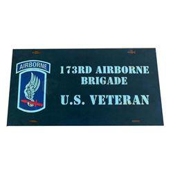 Greenland Veterans Plaque