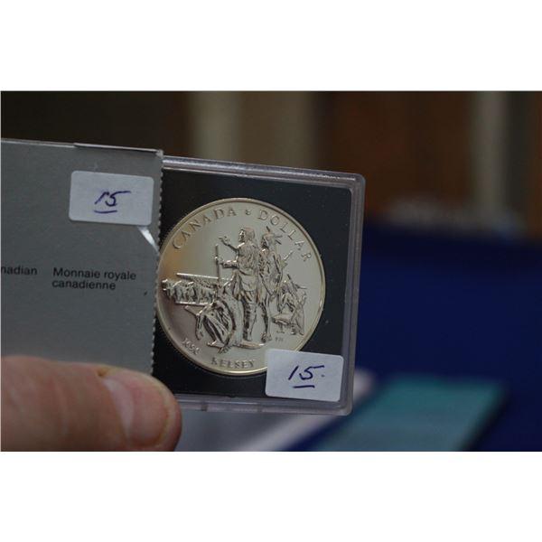 Canada One Dollar Coin (1) - 1990; 50% Silver