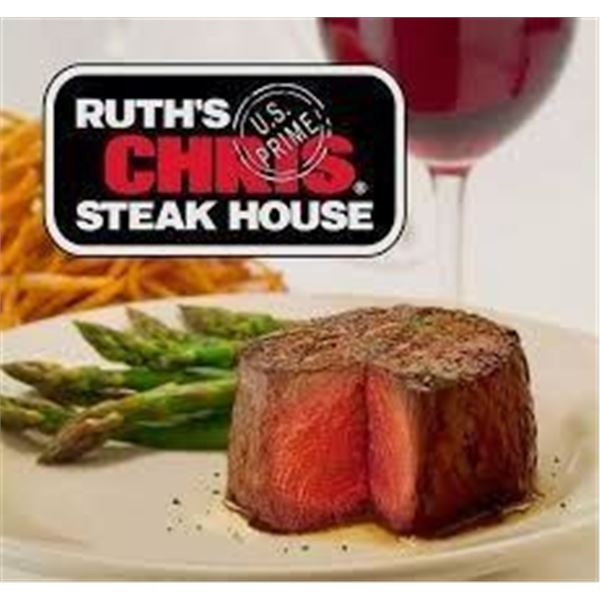 Gift Card to Ruth's Chris