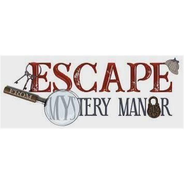"Two Tickets to ""Escape from Mystery Manor"" Escape Room"