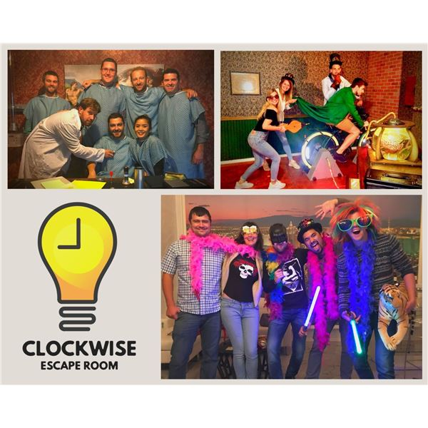 Five Tickets to Clockwise Escape Room