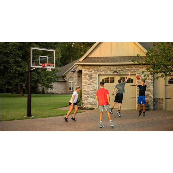 In-Ground Pro-Style Basketball Hoop