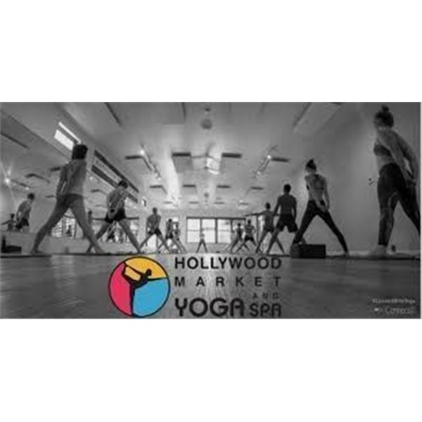 Gift certificate for Hollywood Market Yoga