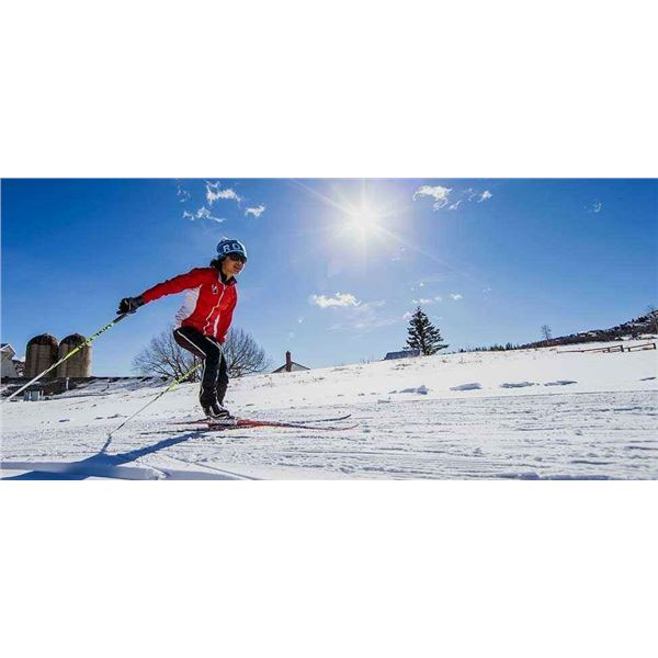 Skate Ski Lesson with Darla McRoberts