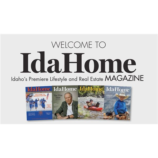 Full Page Ad in IdaHome Magazine