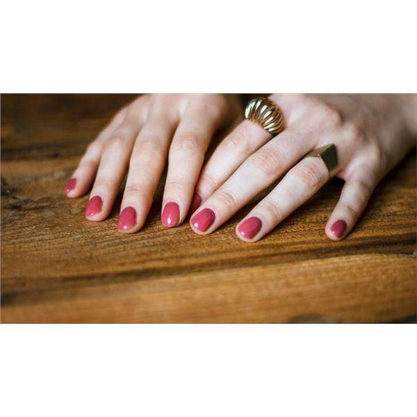 Gel Manicure and Pedicure at Wisteria Salon