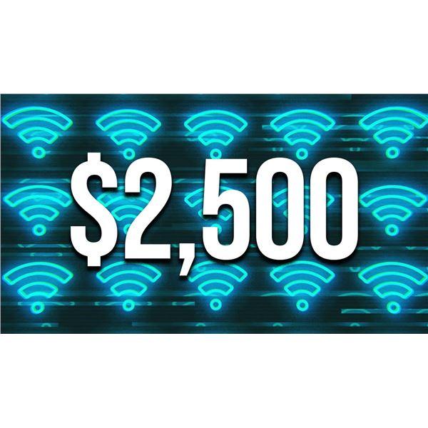 $2500 donation
