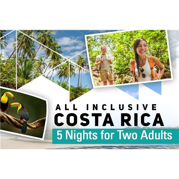 Costa Rica 5 Nights for 2