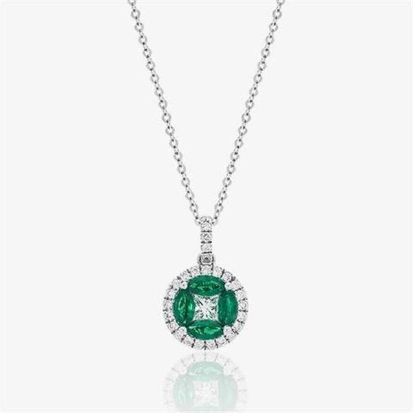 Ladies' Emerald Pendant