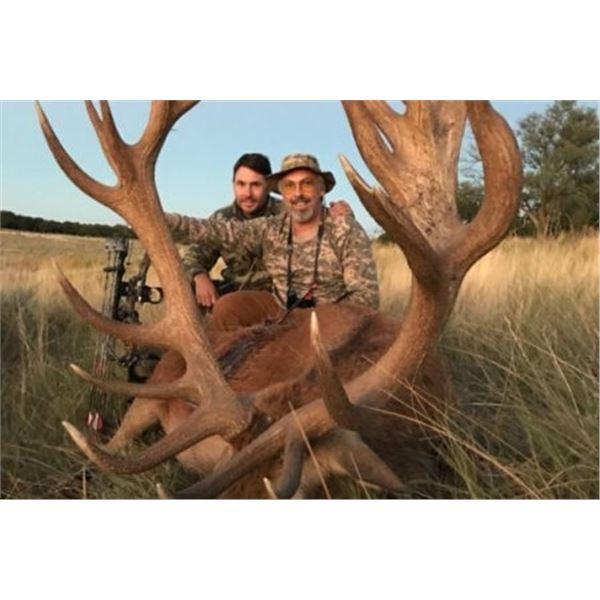 Blackbuck and Wild Boar Hunt in Patagonia (3) Hunters