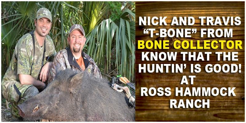 Wild Hog Hunt for  4 Hunters at  Ross Hammock Ranch (Valued at $2,159.)