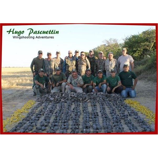 HP Wingshooting Adventures donates an Argentina Bird Hunt in Cordoba. (Valued at $6,400.)