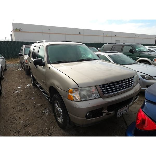 FORD EXPLORER 2004 T-DONATION