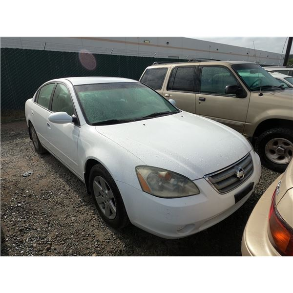 NISSAN ALTIMA 2002 T-DONATION