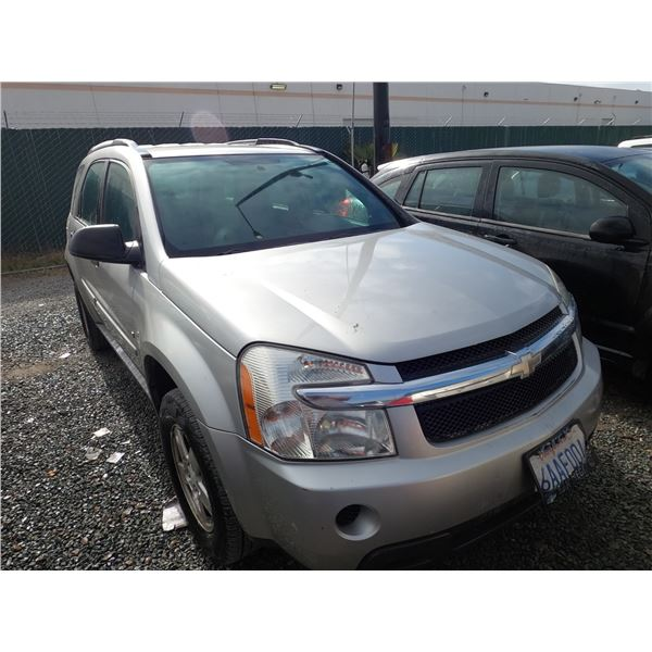 CHEVROLET EQUINOX 2008 APP  DUP/T-DON