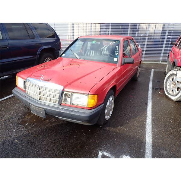 1987 Mercedes-Benz 190D