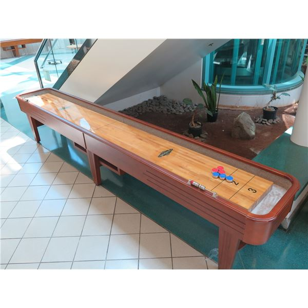 "Brunswick Shuffleboard Table 172""L x 26""W x 33""H with 6 Pucks"