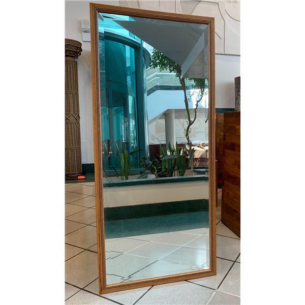 """Full-Length Wood-Frame Mirror 24"""" x 54"""""""