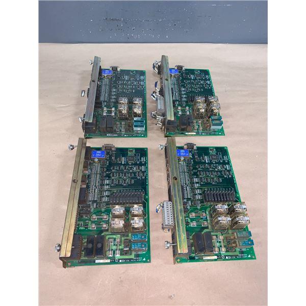 (4) - YASKAWA JZRCR-XSU01_JARCR-XST01 CIRCUIT BOARDS