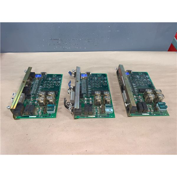 (3) - YASKAWA JARCR-XST01 BOARDS