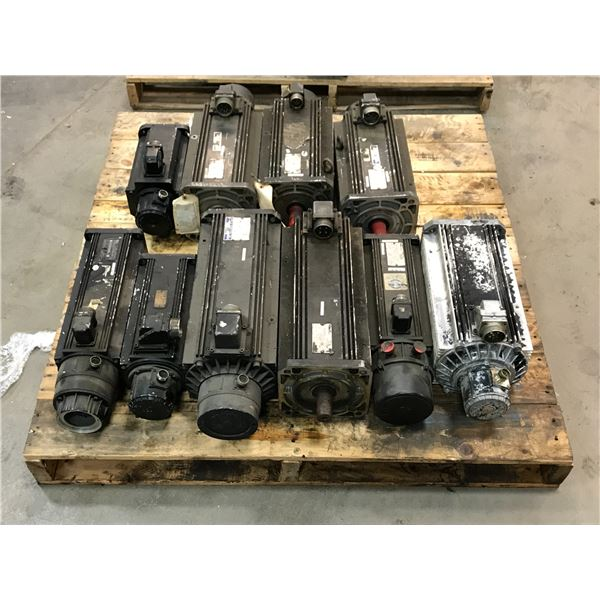 LOT OF INDRAMAT SERVO MOTOR *PART #'S PICTURED*