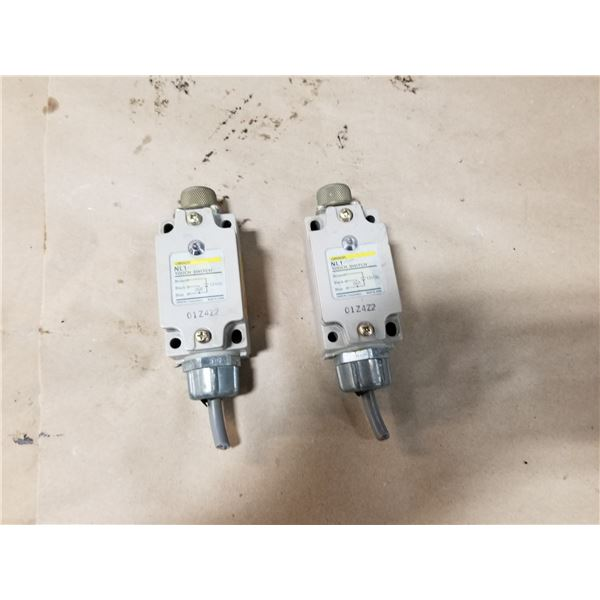 (2) OMRON NL1-SC TOUCH SWITCH