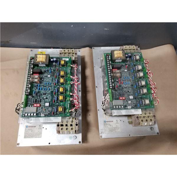 (2) BENSHAW RSD6-50-4-C & RSD6-60-4-C MOTOR CONTROL DRIVE