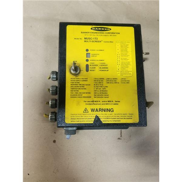 BANNER MUSC-1T3 MULTI SCREEN CONTROL BOX