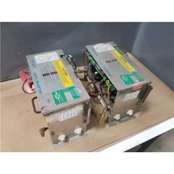 (2) MEDAR MF600-B98200 INVERTER