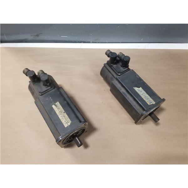 (2) REXROTH-INDRAMAT MHD071B-061-NP0-UN DC SERVO MOTORS