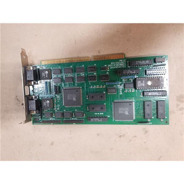 COLORGRAPIC COMMUNICATIONS CORP. PC-602105-R5 (SUPER WARP 2) CIRCUIT BOARD
