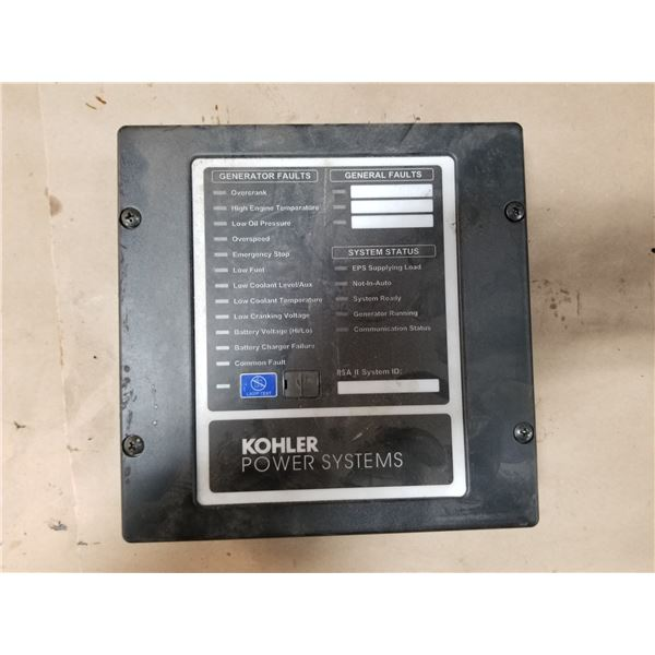 KOHLER POWER SYSTEMS FAULT DISPLAY INTERFACE *SEE PICS FOR DETAILS*