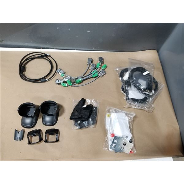 LOT OF BARCODE SCANNER SPARE PARTS *SEE PICS FOR DETAILS*