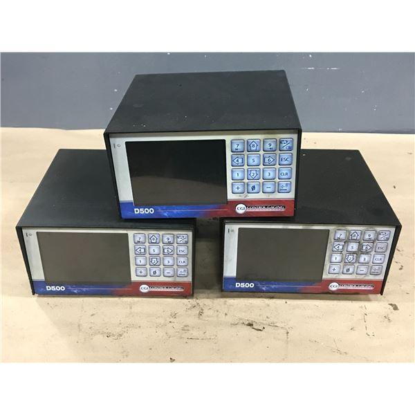 (3) CONTROL GAGING D500 905308-054-AA00 CONTROL UNIT