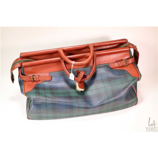 Vintage Polo Ralph Lauren Blackwatch plaid duffle bag