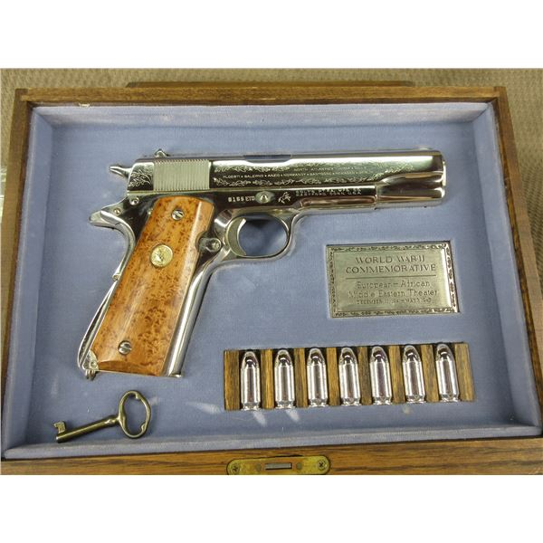 Restricted - Colt World War II Commemorative 1911 in 45 Auto