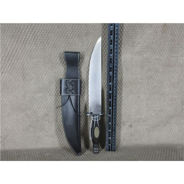 Dixie Gun Works KE6701 Bowie Knife with Sheath