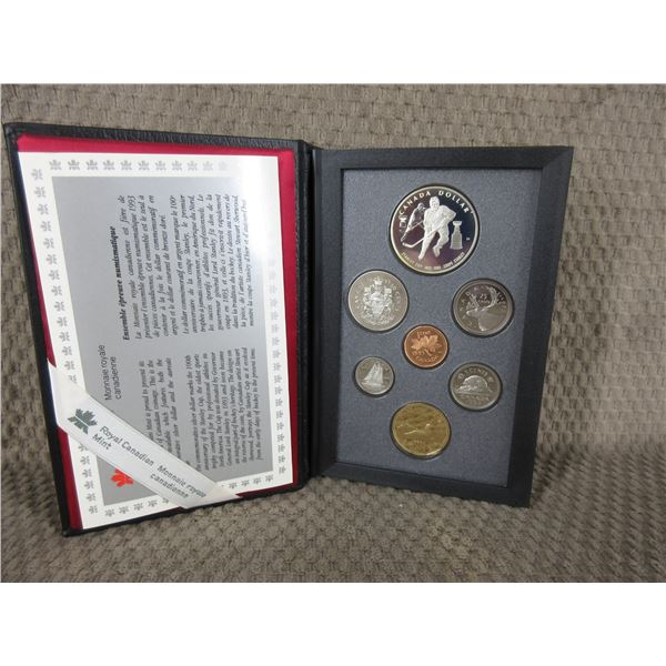 1993 Canada Double Dollar 7-Coin Proof Set in Case