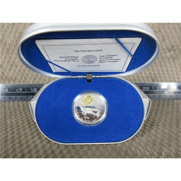 The Fleet 80 Canuck Silver 20 Dollar Coin 1995
