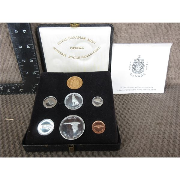 1967 Canadian Speciimen Set with $20 Gold Coin