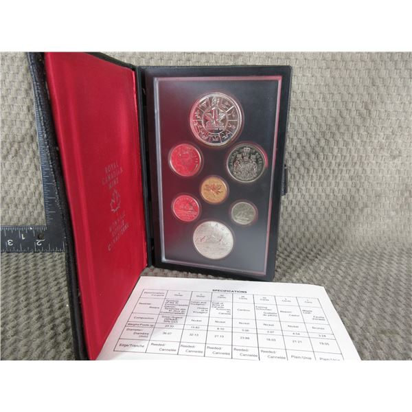 1978 Canada Double Dollar 7-Coin Proof Set in Case